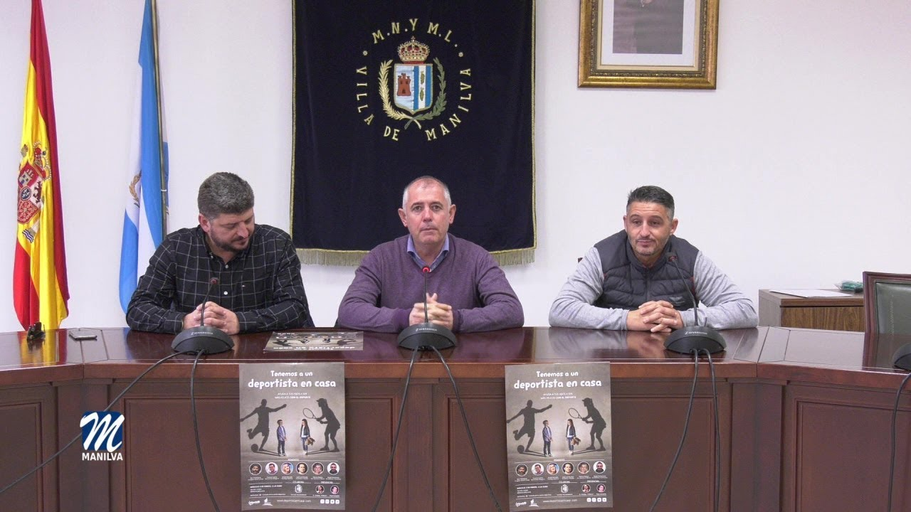 """PRESENTADO EL PROYECTO """"TENEMOS UN DEPORTISTA EN CASA"""""""