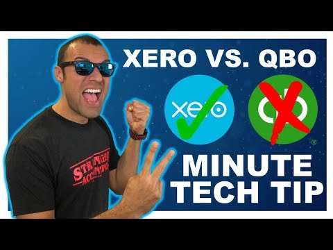 2 Minute Tech Tip QuickBooks vs  Xero Best Accounting Bookkeeping   Small Business Owner   AdvisorFi
