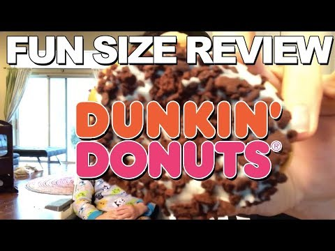Fun Size Review: Dunkin' Donuts' Mint Brownie Donut