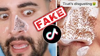 Debunking TikTok Famous FAKE Skincare Products / Routines ✖  James Welsh