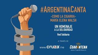#ArgentinaCanta - CRUZA en CuarAntena.tv