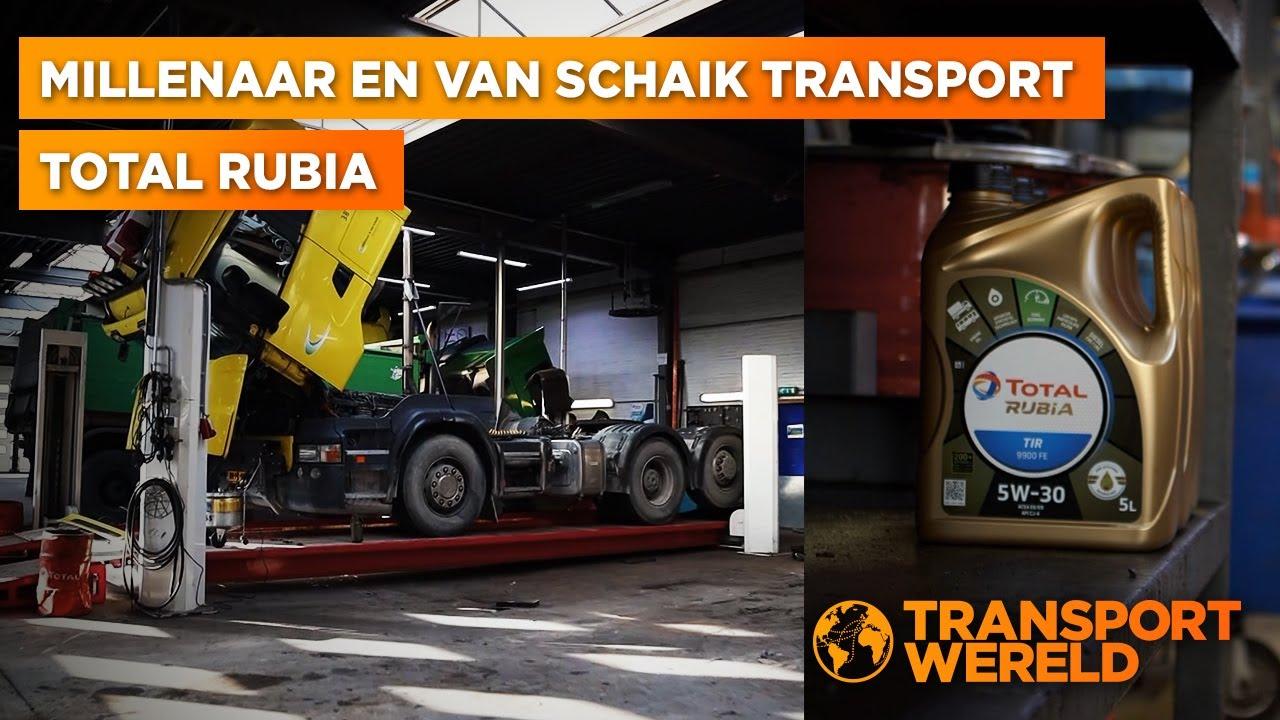 Hoe zorgt TOTAL RUBIA ervoor dat truckonderhoud gesmeerd verloopt?