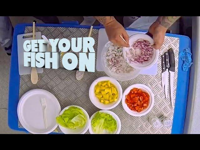 Get Your Fish On Raw fish recipe - Yummy!