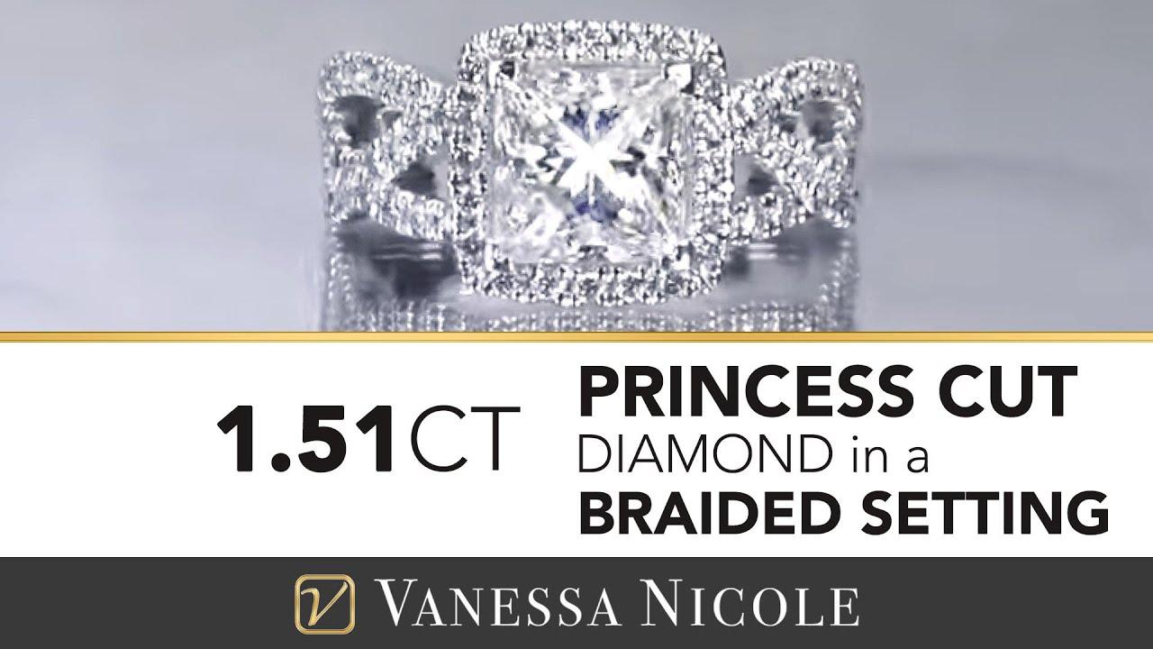 1.51ct Princess Cut Diamond Ring