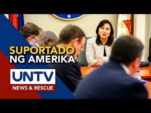 [UNTV]  Robredo, suportado ng embahada ng Amerika bilang drug czar sa bansa