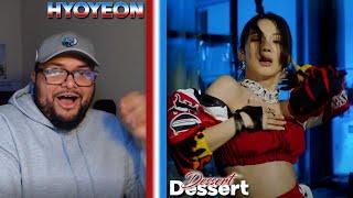 HYO - Dessert ft Loopy & Soyeon MV REACTION | THE SWEETEST #DOLO