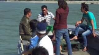 preview picture of video 'travel in jet boat from chatraghat'