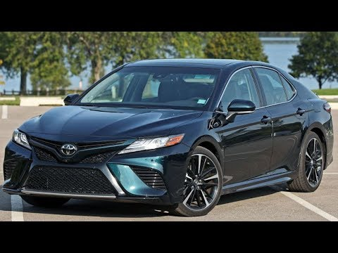 Toyota Camry 2019 Наши тесты
