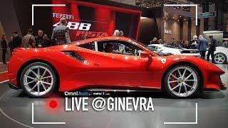 Ferrari 488 Pista, pronta per correre al Salone di Ginevra 2018
