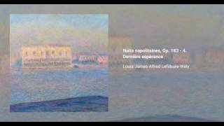Nuits napolitaines, Op. 183