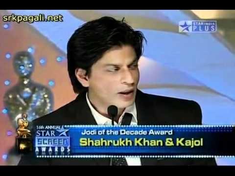 YouTube - Shahrukh - Kajol (Best Jodi of the Decade) -16th Annual Star Screen Awards 2010 - HD.flv