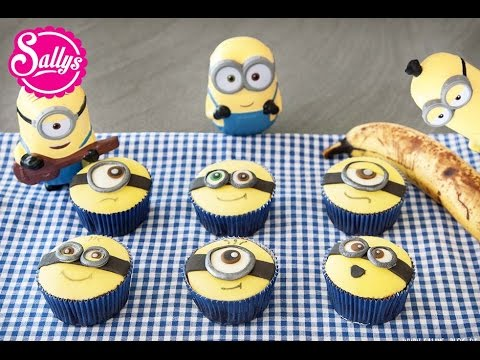 Minion Muffins / Minion Cupcakes / Bananenmuffins / die Minions zu Besuch in meiner Küche