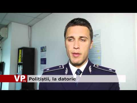 Polițiștii, la datorie