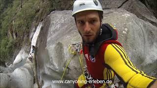 Heli Canyoning im Tessin - Boggera