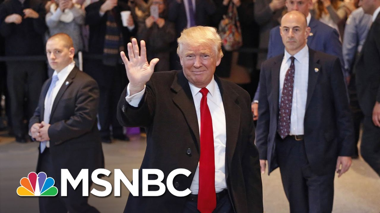 Donald Trump Meets With The New York Times, Talks Business, Alt-Right, President Obama | MSNBC thumbnail