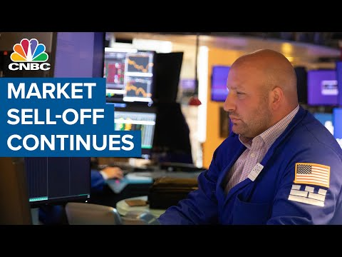 , title : 'Market sell-off continues