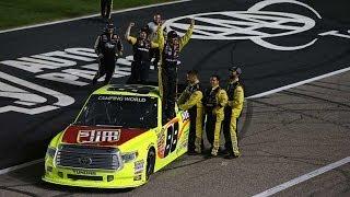 NASCAR - Texas2014 Final Laps Crafton Wins