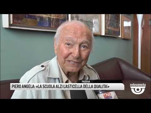 TG PADOVA (14/09/2019) - PIERO ANGELA: «LA SCUOLA ALZI LA SUA QUALITA'»