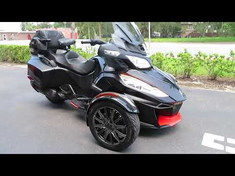 2016 Can-Am Spyder RT-S Special Series in Sanford, Florida - Video 1