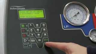 Станция для обслуживания кондиционеров Robinair ACM-3000 ROB от компании Karcher и Nilfisk Alto - видео
