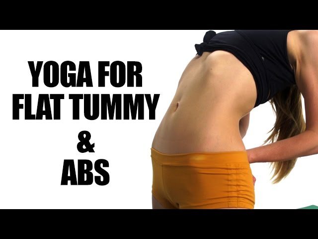 Yoga For Flat Tummy And Abs