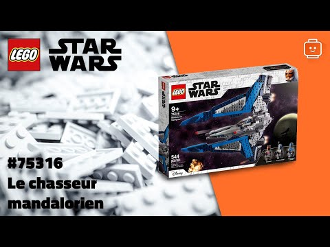 Vidéo LEGO Star Wars 75316 : Le chasseur mandalorien