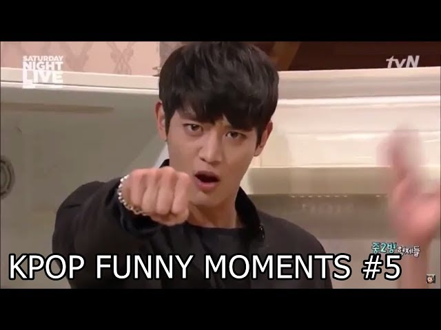 Kpop Funny Moments 5