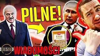 PILNE! KONFLIKT Rosji z Białorusią! To SKOŃCZY SIĘ ŹLE… | WIADOMOŚCI