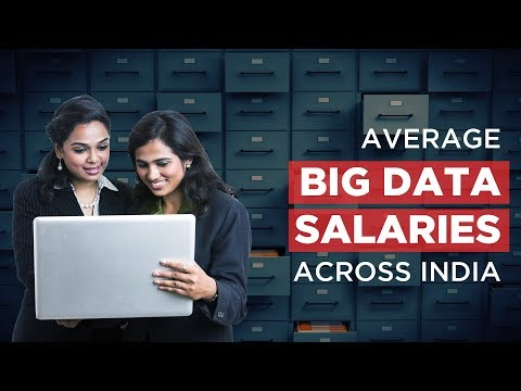 Average Big Data Salaries Across India 2018 | Big Data Jobs in India 2018