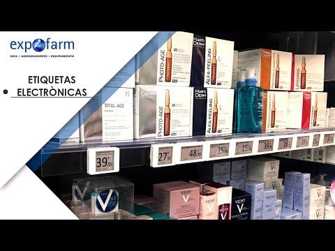 Etiquetas electrónicas para farmacia