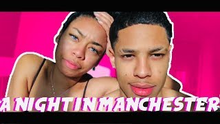 travelling with babe: MANCHESTER for a night. | ChandlerAlexisVlogs #229