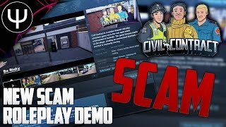 CivilContract — New SCAM Roleplay Game First Look!
