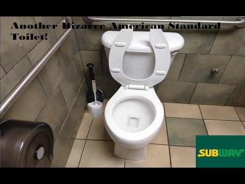 Another Bizarre 2002? American Standard Toilet at a Subway
