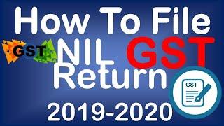 How to file NIL Return in GST return   Zero fee