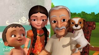Nana ji | Hindi Rhymes for Children | Infobells