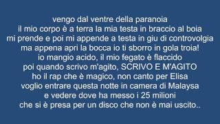 [LYRICS/TESTO]Bassi Maestro feat Fabri Fibra-Succhiateci Ancora Il Cazzo