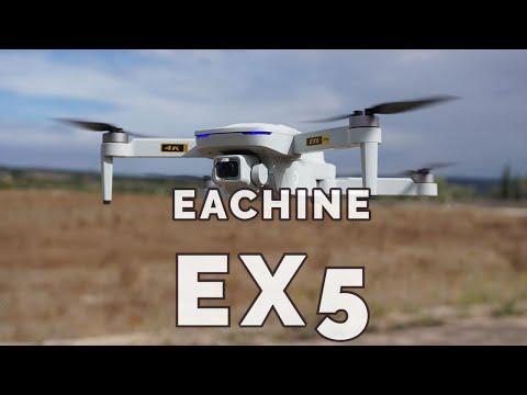 Eachine EX5 GPS drone economico ma senza Gimbal e scheda SD. Recensione e prova
