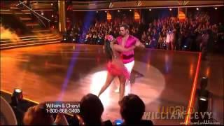 William Levy @willylevy29 & Cheryl bailan SAMBA en #DWTS (semana9) // abc