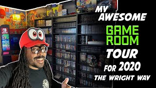 MY AWESOME Game Room Tour For 2020|The Wright Way