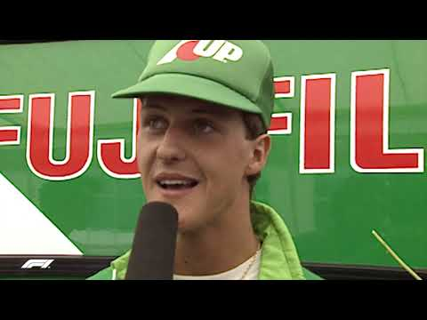Michael Schumacher's F1 Debut | 1991 Belgian Grand Prix