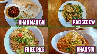 4 One Plate Thai Dishes You
