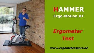 Hammer Ergo-Motion BT im Test  [ERGOMETER & HEIMTRAINER]  #ergometertest