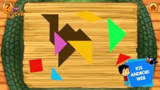 TRT Çocuk - Ege Ile Gaga Tangram Oyunu Yayında