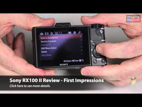Sony RX100 II Review - First Impressions