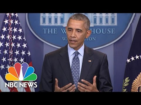 President Obama Shares Most Constructive Advice He's Given President-elect Trump   NBC News