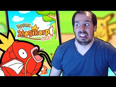 NEW POKEMON MOBILE GAME! Magikarp Jump REVIEW + GAMEPLAY | MAGIKARP JUMP