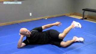 Golf Fitness Video by the American Golf Federation - Hip mobility for golfers