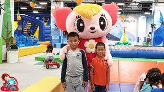 น้องบีม | กิจกรรมฮาโลวีนหรรษา เล่นสวนสนุก Kidzoona วีสแควร์นครสวรรค์