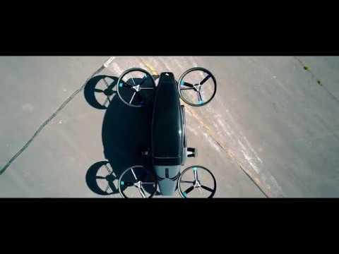 У Британії показали випробування прототипу літаючого електротаксі