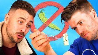 Irish People Try The World's Spiciest Foods